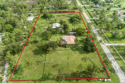 Lake Worth Single Family Home For Sale: 5479 Homeland Road