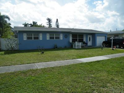 West Palm Beach Single Family Home For Sale: 4120 Collin Drive