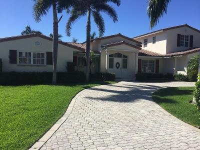 Boca Raton Single Family Home For Sale: 1848 Sabal Palm Circle