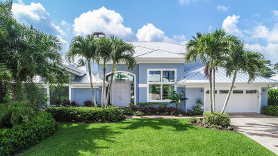 Hobe Sound Single Family Home For Sale: 8540 SE Sabal Street
