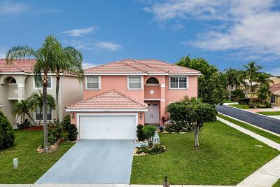 Boca Raton Single Family Home For Sale: 18982 Adagio Drive