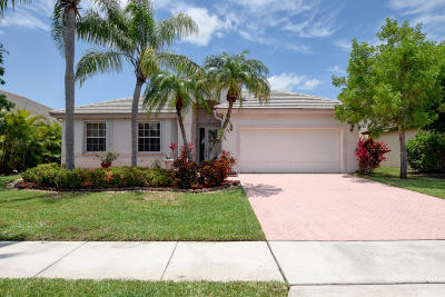 Boca Raton Single Family Home For Sale: 12349 Cascades Pointe Drive