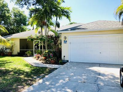 St Lucie County Single Family Home For Sale: 350 NE Camelot Drive