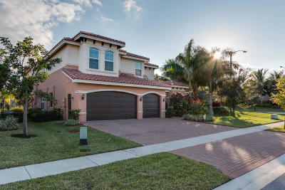 Boynton Beach Single Family Home For Sale: 8156 Viadana Bay Avenue