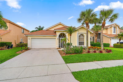 Lake Worth Single Family Home For Sale: 7338 Oakboro Drive