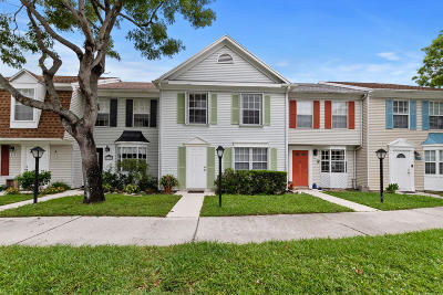 Jupiter Townhouse For Sale: 215 Old English Drive