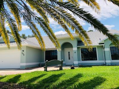 Port Saint Lucie Single Family Home Contingent: 308 SW Chandler Terrace