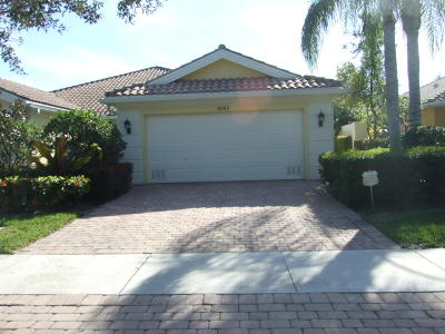 Palm Beach Gardens Rental For Rent: 5063 Magnolia Bay Circle