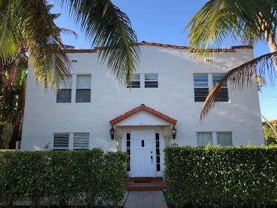 Palm Beach Rental For Rent: 354 Brazilian Avenue #1