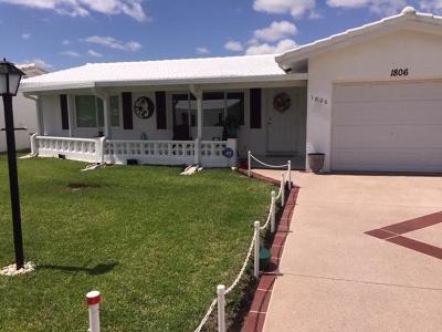 Boynton Beach Single Family Home For Sale: 1806 SW Roma Way