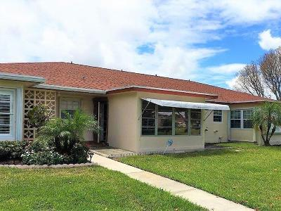Delray Beach Single Family Home For Sale: 4570 NW 2nd Street #B