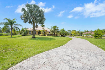 West Palm Beach Single Family Home For Sale: 14654 100th Lane