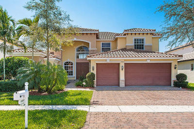 Lake Worth Single Family Home For Sale: 9892 Via Bernini