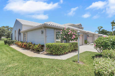Tequesta Townhouse For Sale: 8945 SE Riverfront Terrace