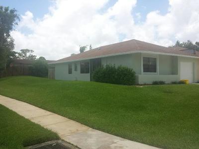 West Palm Beach Rental For Rent: 4860 Regina Court