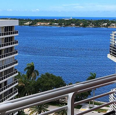 West Palm Beach Rental For Rent: 1551 Flagler Drive #1206