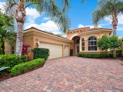 West Palm Beach Single Family Home For Sale: 7952 Via Villagio