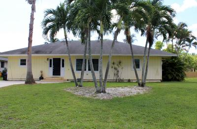 Martin County Single Family Home For Sale: 6351 SE Lillian Court Court