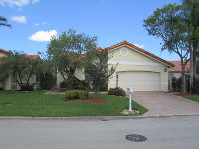Delray Beach Single Family Home Contingent: 5325 Bodega Place