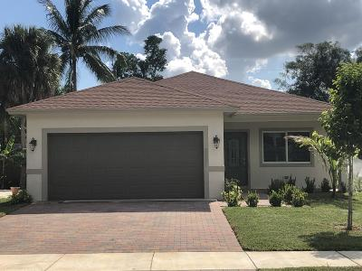 Delray Beach Single Family Home For Sale: 4932 Jefferson Road