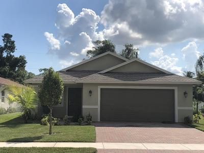 Delray Beach Single Family Home For Sale: 4936 Jefferson Road