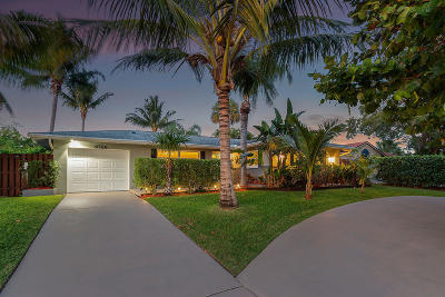 Palm Beach Gardens Single Family Home For Sale: 9766 Dogwood Avenue