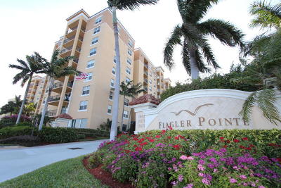 West Palm Beach Rental For Rent: 1801 Flagler Drive #638