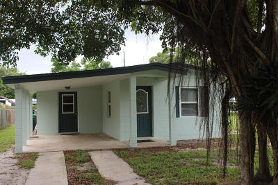 Fort Pierce Single Family Home For Sale: 354 Smallwood Avenue