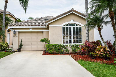 Lake Worth Single Family Home For Sale: 6870 Sugarloaf Key Street