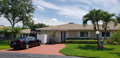 Boca Raton Single Family Home For Sale: 8752 Tyrone Terrace