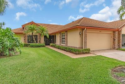 Boynton Beach, Gulf Stream Single Family Home For Sale: 8468 Heather Place