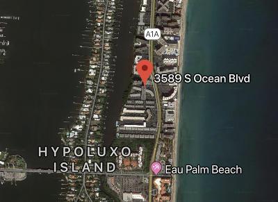 Palm Beach Rental For Rent: 3589 S Ocean Boulevard #L 22