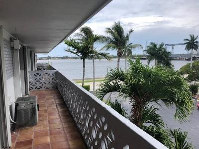West Palm Beach Rental For Rent: 3705 S Flagler Drive #30