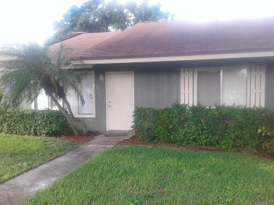 West Palm Beach Rental For Rent: 4635 Orleans Court #A