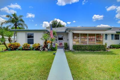 Delray Beach Condo For Sale: 1235 Club Drive W #B