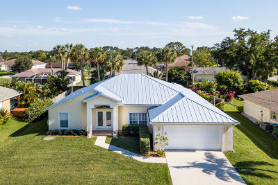 Port Saint Lucie Single Family Home For Sale: 1078 SW Di Lido Lane