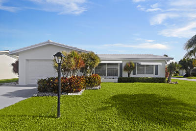 Boynton Beach Single Family Home For Sale: 1001 SW 5th Avenue