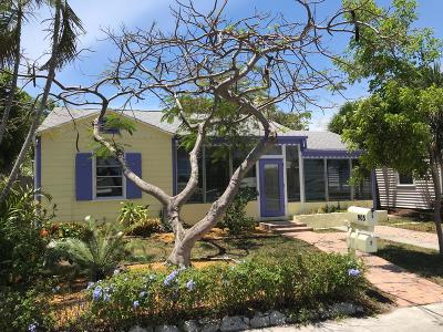 Lake Worth Single Family Home Contingent: 905 Palmway