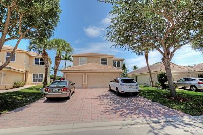 West Palm Beach Single Family Home For Sale: 4882 Victoria Circle