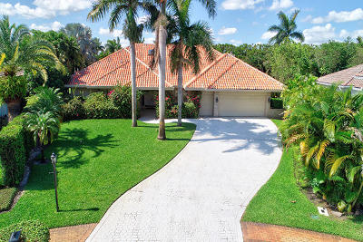 Boca Raton Single Family Home For Sale: 17712 Buckingham Court