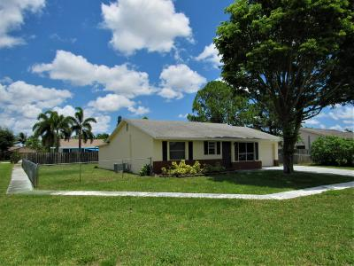 Lake Worth Single Family Home For Sale: 4643 Carthage Circle