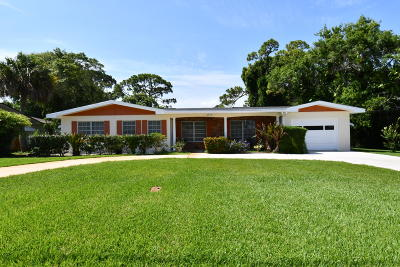 Fort Pierce Single Family Home For Sale: 1117 Paseo Avenue