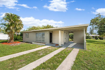 Port Saint Lucie Single Family Home For Sale: 136 SE Prima Vista Boulevard