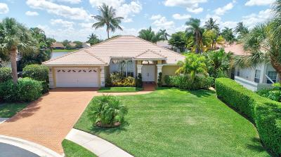 Boynton Beach Single Family Home For Sale: 9401 Cascade Court