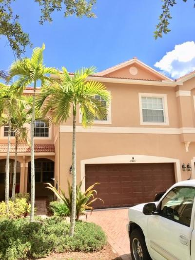 Royal Palm Beach Townhouse For Sale: 11481 Silk Carnation Way #B