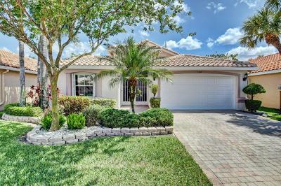 Boynton Beach Single Family Home For Sale: 7124 Trentino Way