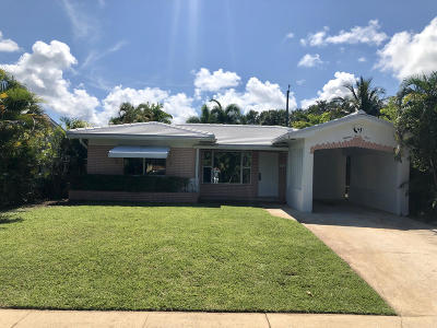 Lake Worth, Lakeworth Rental For Rent: 1823 O Street