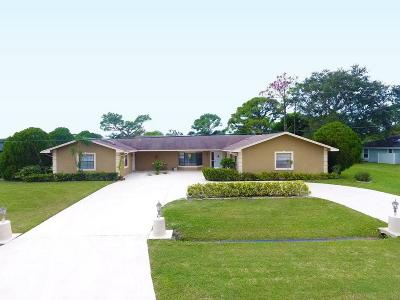 Port Saint Lucie Single Family Home For Sale: 2080 SE Elmhurst Road