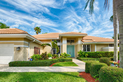 Jupiter Single Family Home For Sale: 121 Cassily Way
