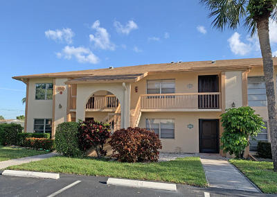 Delray Beach Condo For Sale: 5943 Areca Palm Court #E - 42